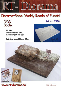 "Diorama-Base:  ""Muddy Roads of Russia"""