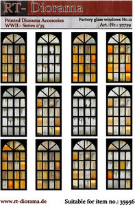Printed Accessories: Factory glass windows No.12