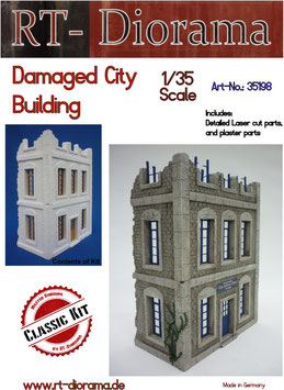 Damaged City Building