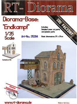 "Diorama-Base:  ""Endkampf"""