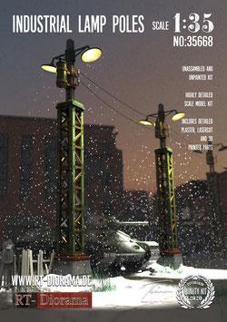 Industrial Lamp Poles (2pcs.)
