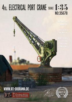 4to. Elektrical Post Crane