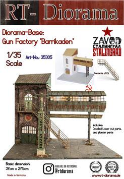 "Diorama-Base: Gun Factoriy ""Barrikaden"""