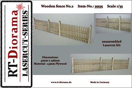 Wooden fence No.2  1/35