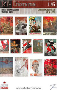 Printed Accessories: Soviet Propagande Posters