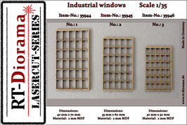 Industrial windows No.1 - No.3