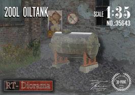 3D Resin Print: 200L Oiltank