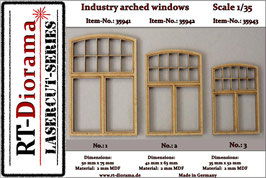 Industry arched windows No.1-No.3