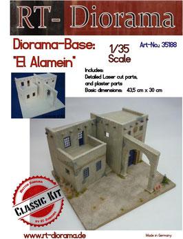 Diorama-Base: El Alamein