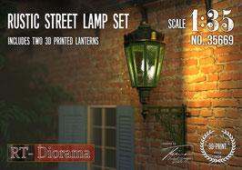 Rustic Street Lamp Set   (2pcs.)