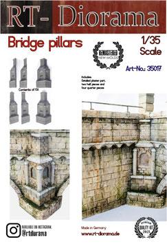 Bridge Pillars    (6pcs)