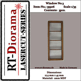 Window No. : 3 (3 pcs)