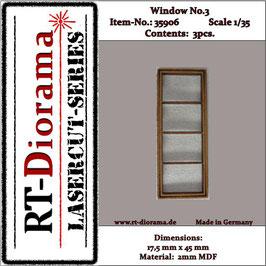Window No. : 3 (3 pcs)
