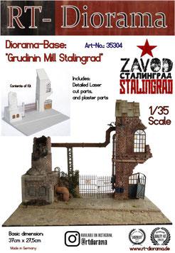 "Diorama-Base: ""Grudinin Mill Stalingrad"""