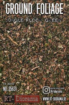 Ground Foliage: Jungle floor green