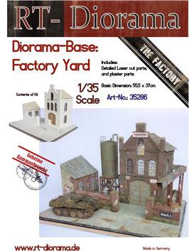 """Diorama-Base:  """"Factory Yard"""""""