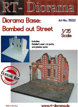 "Diorama-Base: ""Bombed out Street"""