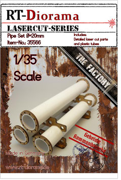 Pipe Set D=20mm (3pcs.)