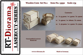 Wooden Crate Set No.1