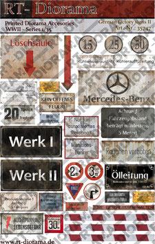 Printed Accessories: German Factory Signs II