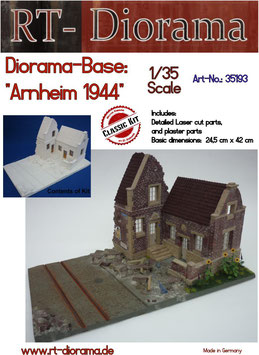 "Diorama-Base: ""Arnheim 1944"" New Version"