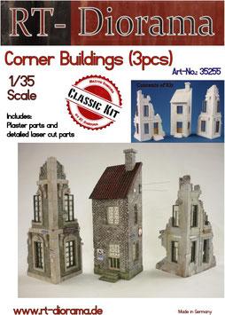Corner Buildings (3pcs.)
