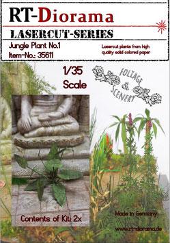 Foliage & Scenery: Jungle Plant No.1