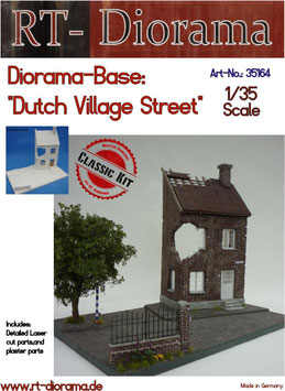 "Diorama-Base: ""Dutch Village House"""