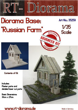Diorama-Base: Russian Farm