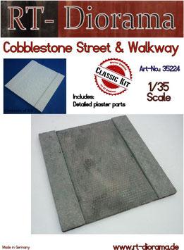 Cobblestone Street & Walkway