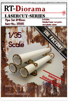 Pipe Set D=16mm (3pcs.)