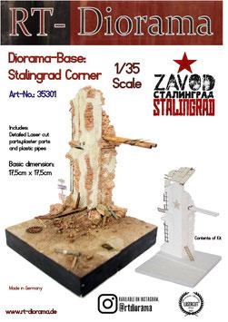 Diorama-Base: Stalingrad corner