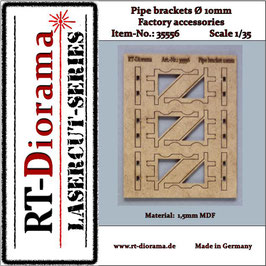 Pipe brackets (10mm)  1/35