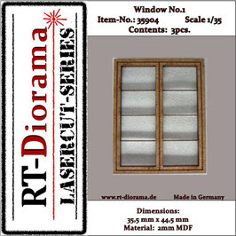 Window No. : 1 (3 pcs)