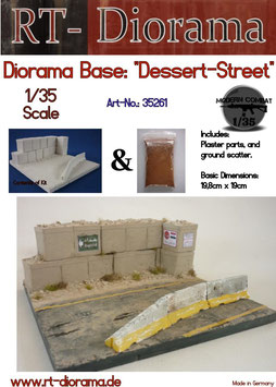 "Diorama-Base: ""Dessert Street"""