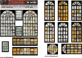 "Printed Accessories: Factory glass windows ""The Factory"""