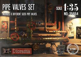 Pipe Valves Set