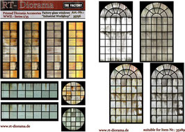 "Printed Accessories: Factory glass windows ""Industrial workshop"""