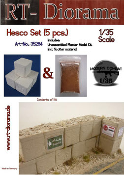 Hescos Set (5 pcs)