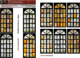 Printed Accessories: Factory glass windows No.10