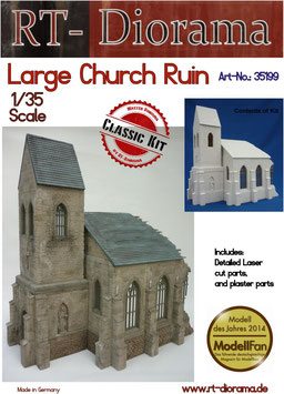 Large Church Ruin