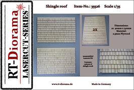Shingle roof Set  1/35