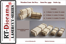Wooden Crate Set No.2