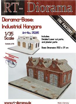 "Diorama-Base:  ""Industrial Hangars"""