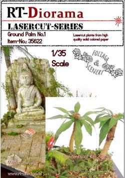 Foliage & Scenery: Ground Palm leaves No.1