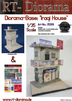 Diorama-Base: Iraqi House