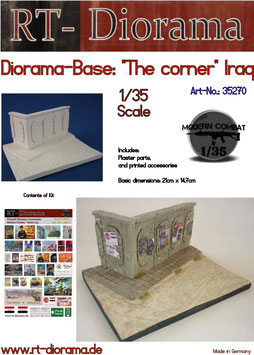 "Diorama-Base: ""The corner"" (Iraq)"