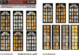"""Printed Accessories: Factory glass windows """"Gotha Werke"""""""
