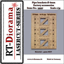 Pipe brackets (6mm)  1/35
