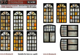 "Printed Accessories: Factory glass windows ""Factory Yard"""